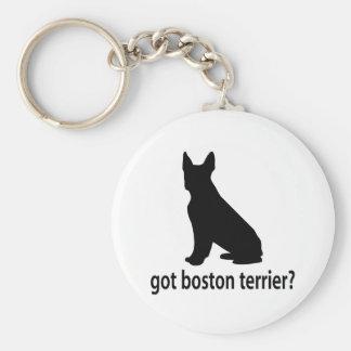 Got Boston Terrier Basic Round Button Keychain