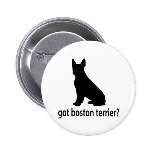 Got Boston Terrier Pinback Button