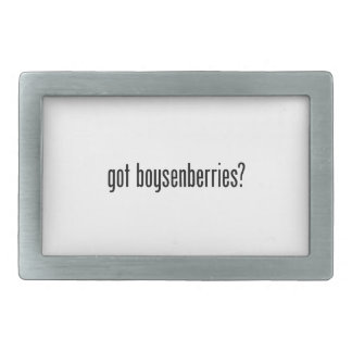 got boysenberries belt buckle