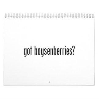 got boysenberries wall calendar
