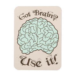 Got Brain Use it Rectangle Magnets