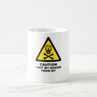 got brains coffee mug