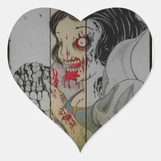 got brains heart sticker