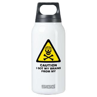 got brains insulated water bottle