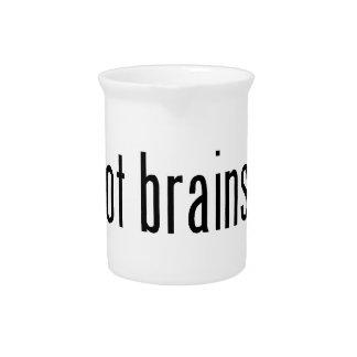 got brains? pitcher