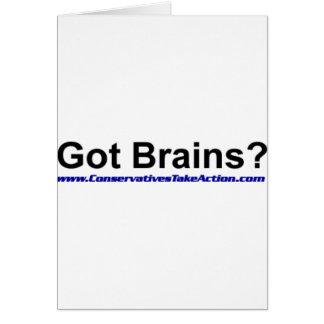 Got Brains Series Card