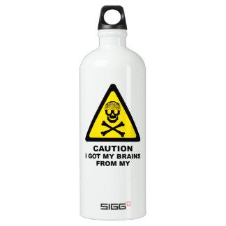 got brains water bottle