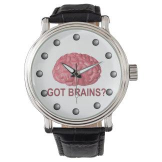Got Brains? Wrist Watches