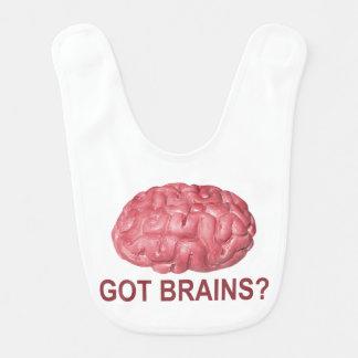Got Brains? Baby Bibs