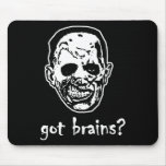 Got Brains Zombie Halloween Mousepad