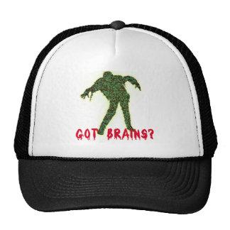 Got Brains? Zombie Halloween Tshirts, Hoodies Trucker Hat