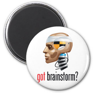 got brainstorm? magnet