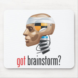 got brainstorm? mouse pad