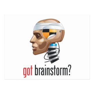 got brainstorm? postcard