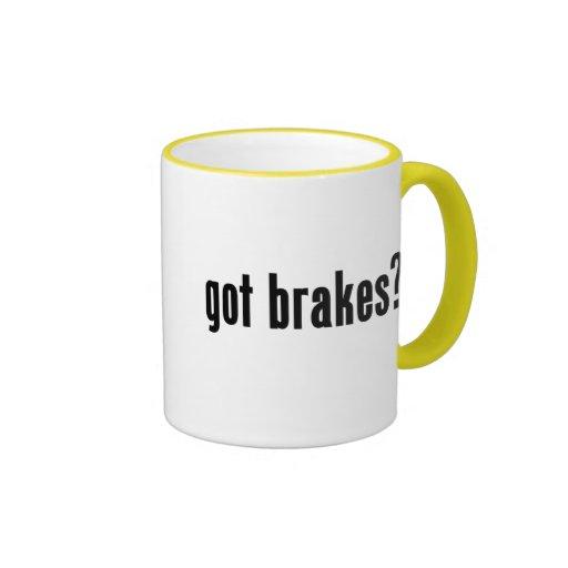 got brakes? ringer coffee mug