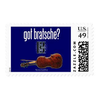got bratsche? postage stamps