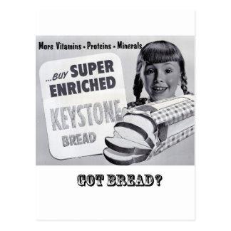 Got Bread? Post Card