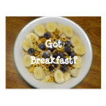 Got Breakfast? Postcard
