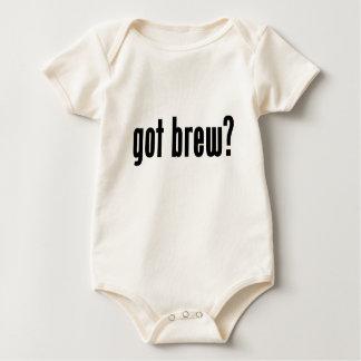 got brew? baby bodysuit
