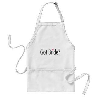 Got Bride Heart Apron