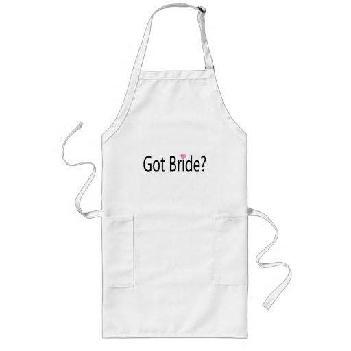Got Bride Long Apron