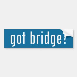 got bridge? bumper sticker