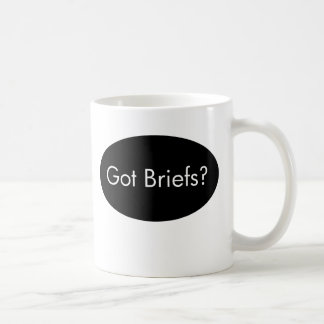 Got Briefs?  Lawyer Mug