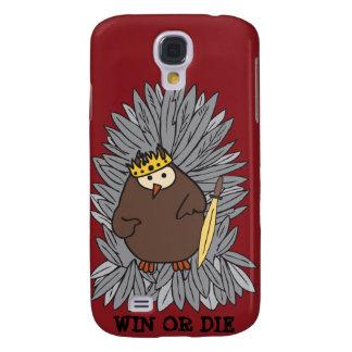 GoT Brute Hoot Owl King Galaxy S4 Case