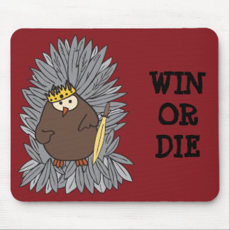 GoT Brute Hoot Owl King Mouse Pad