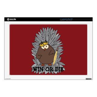 """GoT Brute Hoot Owl King Skins For 17"""" Laptops"""