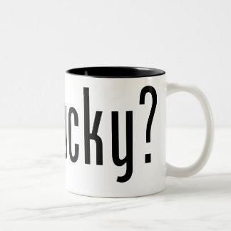 Got Bucky 16 oz. Mug:  Black & White Two-Tone Coffee Mug