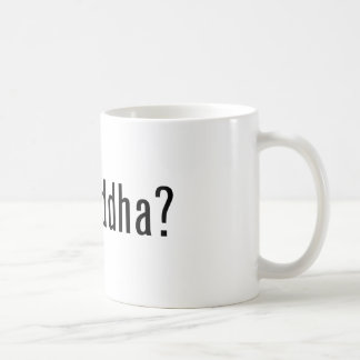 got buddha? classic white coffee mug