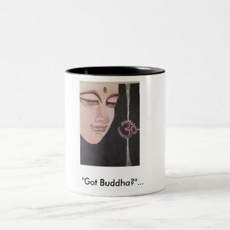 """""""Got Buddha?""""... Two-Tone Coffee Mug"""