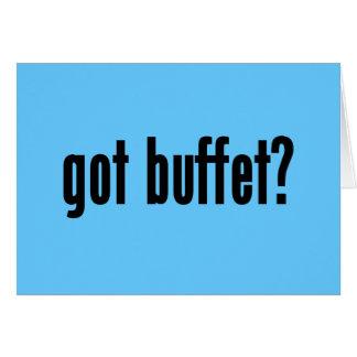 got buffet? card