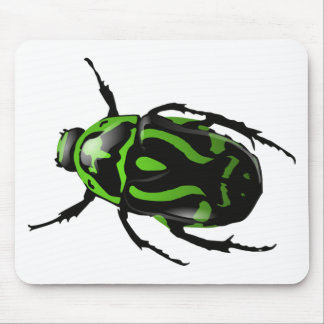 Got Bugs-Wild Colored Beetle Mouse Pad