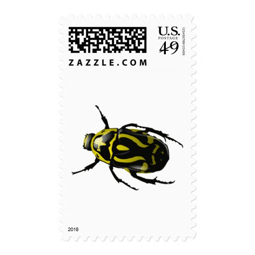 Got Bugs-Wild Colored Beetle Stamps