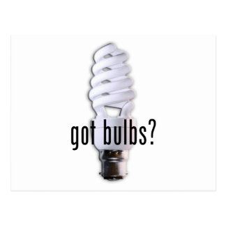 Got Bulb? Postcard