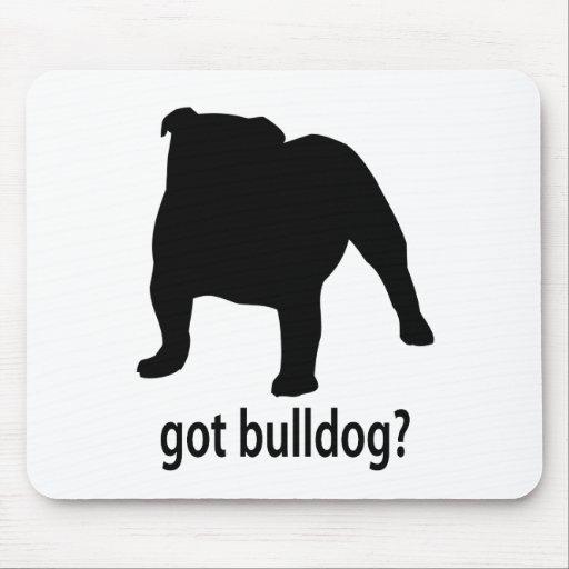 Got Bulldog Mouse Pads