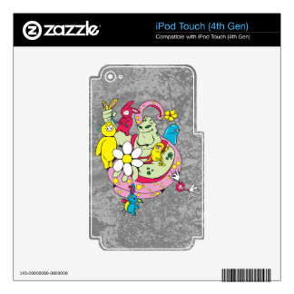 Got Bunnies Decals For iPod Touch 4G