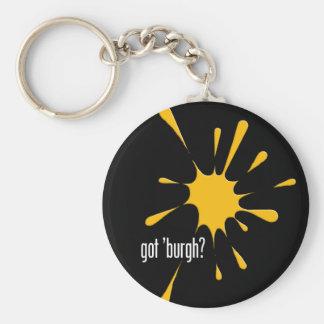 got 'burgh? key chain