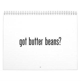 got butter beans calendar