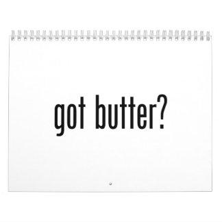 got butter calendar