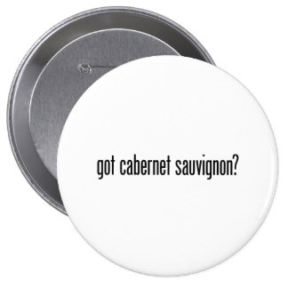 got cabernet sauvignon 4 inch round button