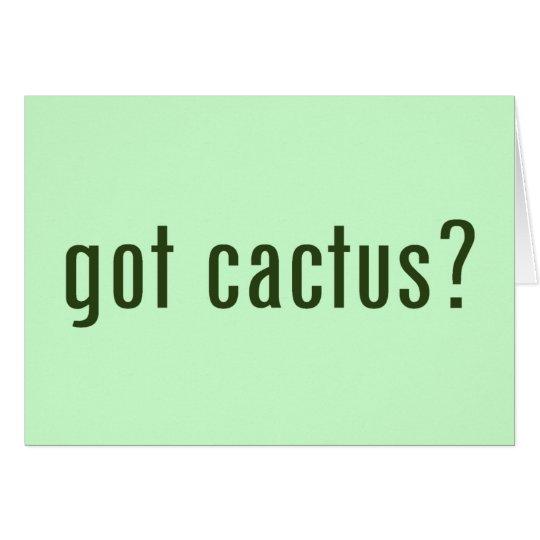 got cactus? card