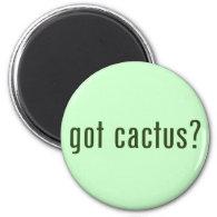 got cactus? refrigerator magnet