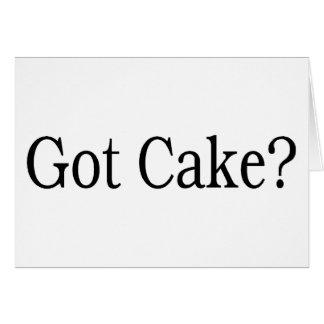 Got Cake Card