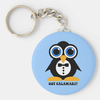 got calamari basic round button keychain