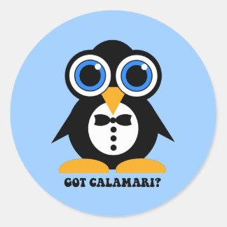 got calamari classic round sticker