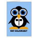got calamari greeting cards