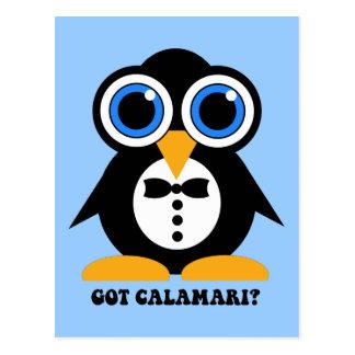 got calamari postcard